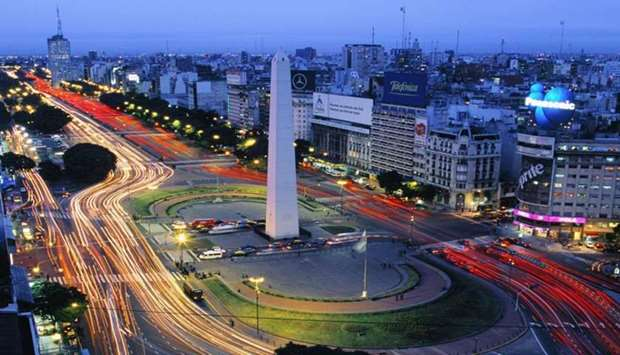 A view of Buenos Aires
