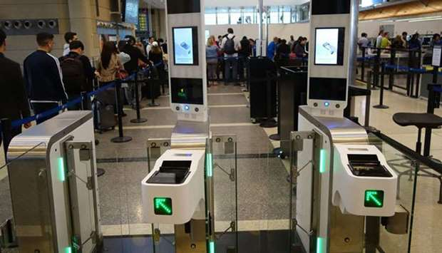 Facial recognition technology at Los Angeles International Airport
