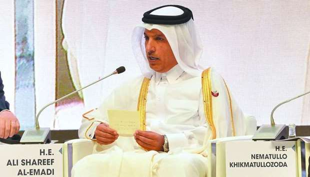 HE al-Emadi: Government to continue with capital spending.