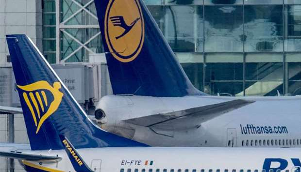 Lufthansa and Ryanair