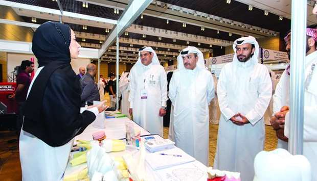 HE the Minister of Administrative Development, Labour and Social Affairs Yousuf bin Mohamed al-Othma