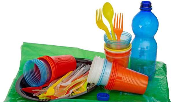 single-use plastic products