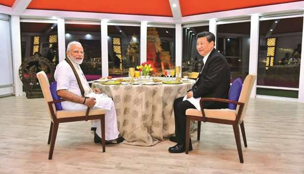 Modi-Xi bonhomie on show as informal summit begins