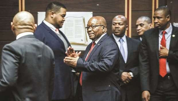 Court rules ex-leader Zuma must face corruption trial