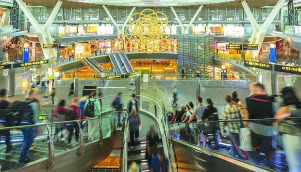 A view of Hamad International Airport