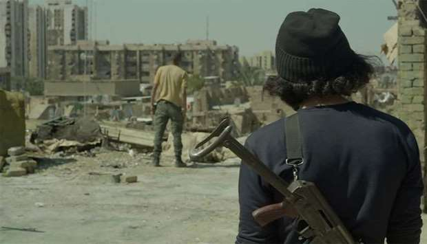 "A still of the movie ""Haifa Street"" drected by Iraqi-director Mohanad Hayal"