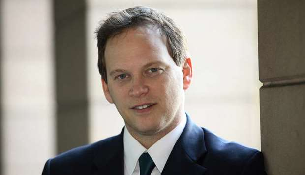 UK transport secretary Grant Schapps.