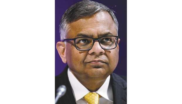 "Chandrasekaran: Dealing with tariffs is the ""new normal"" for the global auto industry and that negot"