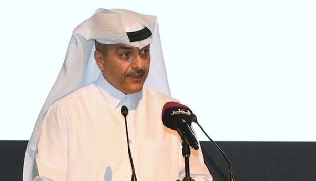 HE the Minister of Administrative Development, Labour and Social Affairs Yousef bin Mohamed al-Othma