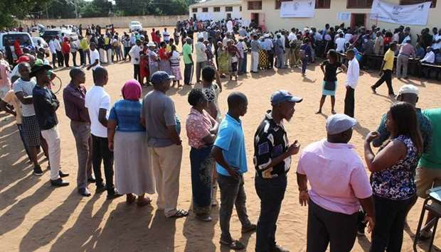 Mozambique votes in high-stakes election