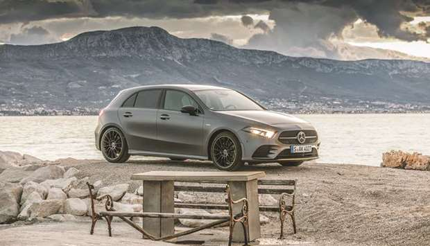 The Mercedes-Benz A-Class.