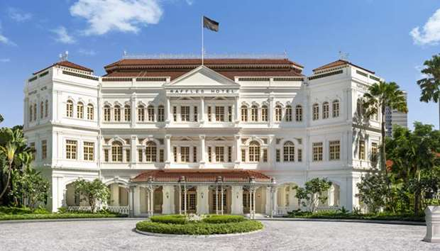 Katara Hospitality officially marks return of Raffles Hotel Singapore