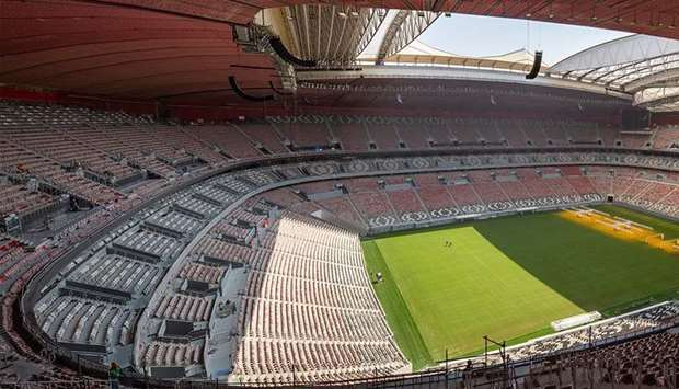Al Bayt Stadium almost ready