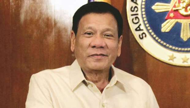 Duterte: keen on strong ties