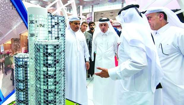 QIMC unveils its iconic project as HE the Minister of Commerce and Industry Ali bin Ahmed al-Kuwari