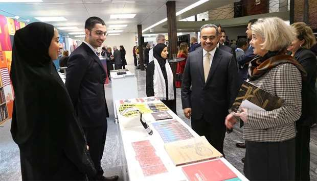 """Qatar has opened in Geneva an exhibition entitled """"Qatar: The Past, Present, and Future"""""""