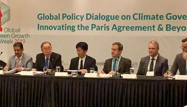 Qatar participates in global policy dialogue on climate in Seoul