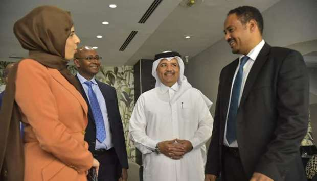 Alkhater meets Ethiopian ministers, officials