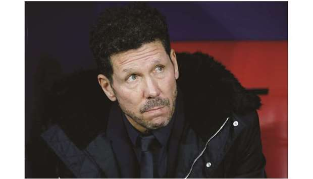 Diego Simeone has been the manager of Atletico Madrid since 2011. (Reuters)