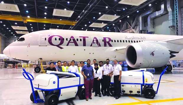 Qatar Airways has become the first airline in the world to use the 'GE360 Foam Wash' system