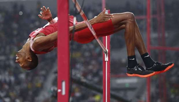 Barshim delivers gold for Qatar in high jump