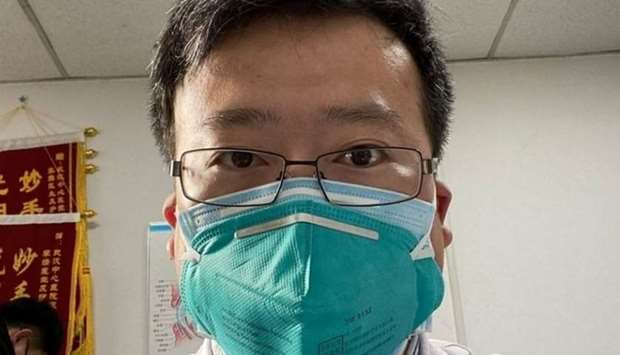 Doctor Li Wenliang, the Chinese ophthalmologist at Wuhan Central Hospital who raised the alarm about