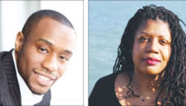 Marc Lamont Hill (left) and Mikki Kendall.