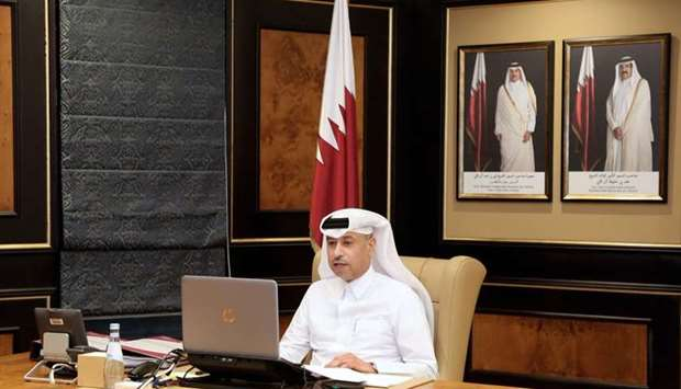 Qatar's delegation to the GCC meeting was headed by HE the Minister of Justice and Acting Minister o