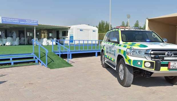 HMC's Sealine Medical Clinic opens tomorrow to coincide with the start of the camping season