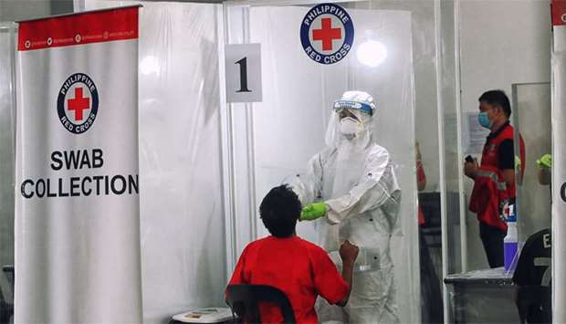 Red Cross Covid-19 tests