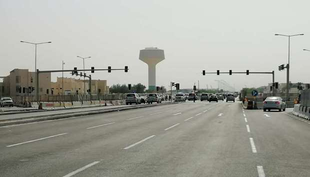 Ashghal opens upgraded Bu Sidra Roundabout to traffic