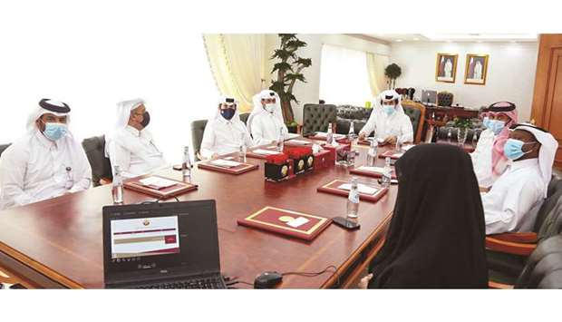 The first batch of licensed Qatari real estate brokers took the legal oath on Sunday before the Real