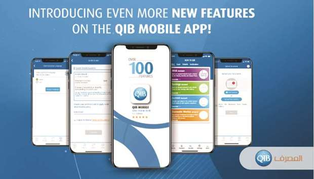 With the latest release, QIB Mobile App registered customers are now fully empowered to update all t