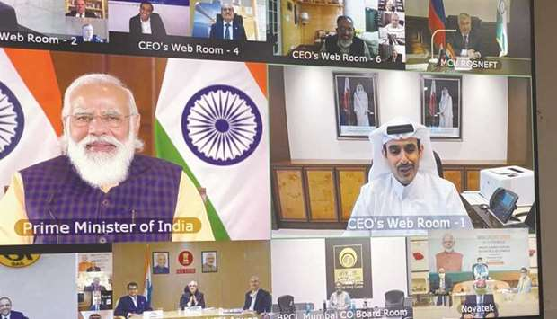 In a virtual interaction session with the India's Prime Minister Narendra Modi, HE al-Kaabi highligh