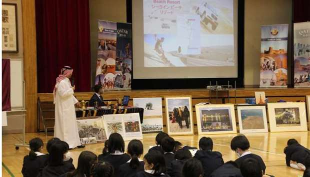 Qatar Embassy participates in event in Japan to promote Qatari heritage, culture