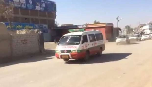 Two dead, several wounded in attack on Afghan police base