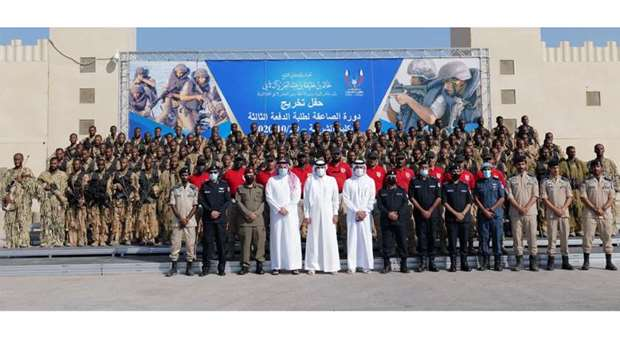 PM attends graduation of Thunderbolt Commandos training of 3rd batch students of Police College