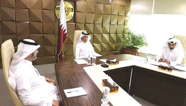 Qatar was represented in the virtual ministerial meeting by HE the Minister of State for Foreign Aff
