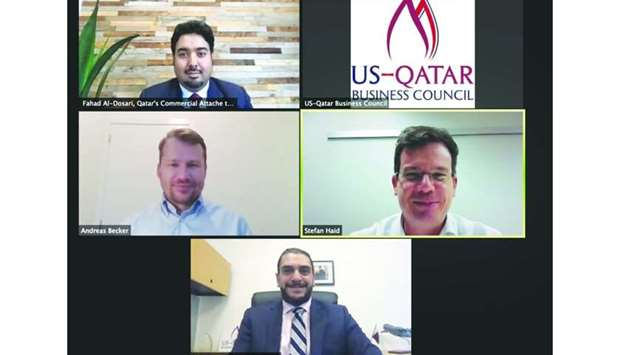 The webinar was moderated by USQBC managing director Mohamed Barakat.