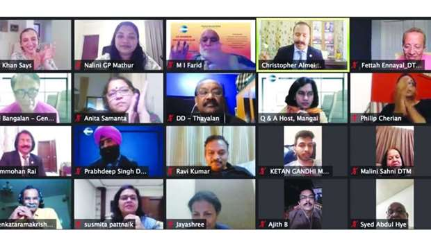 US peace monger inspires IATC audience at online session