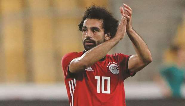 Egypt's Mohamed Salah scored a brace against Libya in the World Cup qualifiers.
