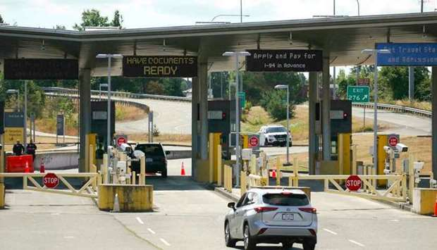 The United States will open its land borders with Mexico and Canada in early November to non-essenti