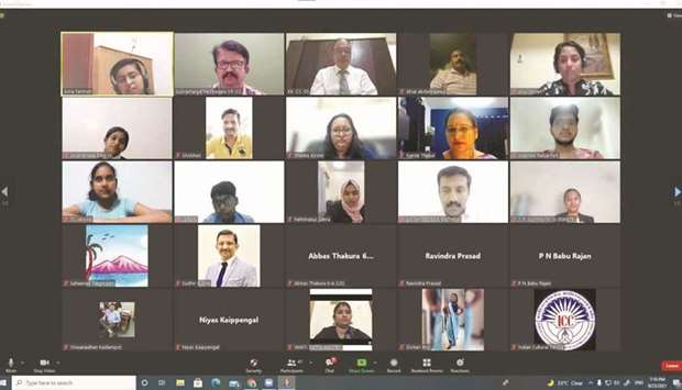 The Indian Cultural Centre's (ICC) Students Forum conducted a virtual speech session, 'Remembering S