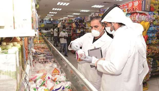 The Al-Rayyan Municipality closed two food establishments in September while carrying out a total of