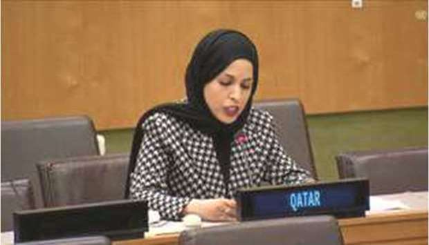 Qatar reiterates two-state solution for lasting peace in Middle East