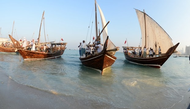 The dhow festival