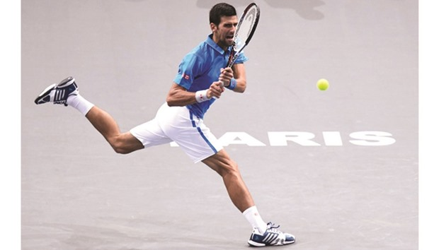 Djokovic starts bid for fourth straight win by beating Muller