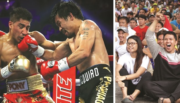 Pacquiao takes political time out to return to ring
