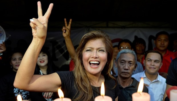 Governor Imee Marcos, daughter of the late dictator Ferdinand Marcos