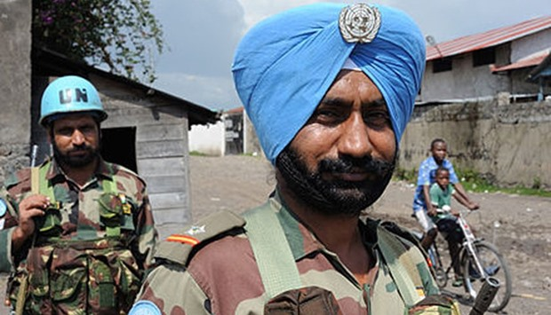 Indian peacekeepers in Congo